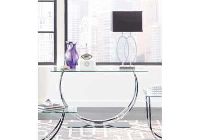 Image for Chrome Contemporary Sofa Table