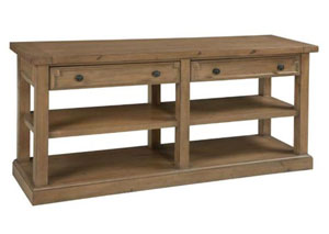 Rustic Smoke Sofa Table