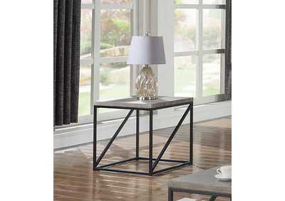 Sonoma Grey End Table