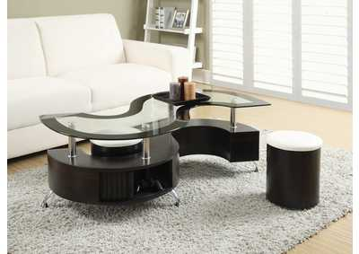 Delange White Coffee Table