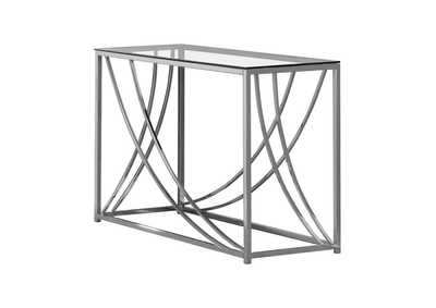 Image for Chrome Contemporary Chrome Sofa Table