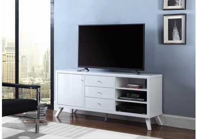 High Glossy White Tv Stand