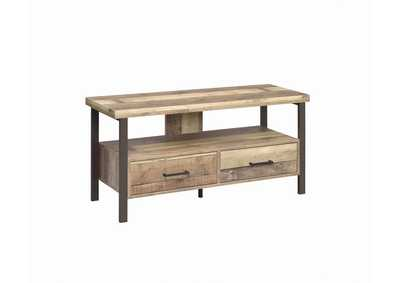 "Image for Weathered Pine Rustic Weathered Pine 48"" TV Console"