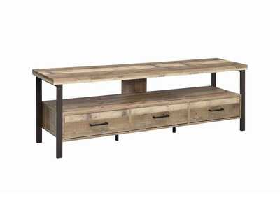 Weathered Pine 71 Inch Tv Console