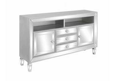 "Image for Silver Contemporary Metallic Platinum 60"" TV Console"