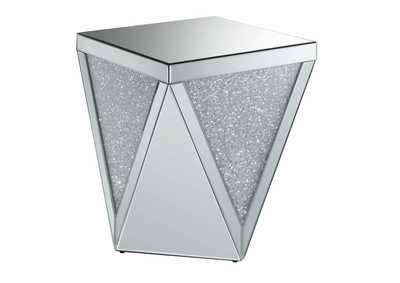 Image for Silver Contemporary Silver Side Table