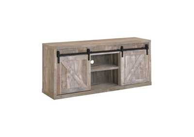 "Image for Weathered Oak 59"" Tv Console"