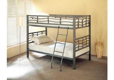 Twin/Twin Bunkbed (Metal)