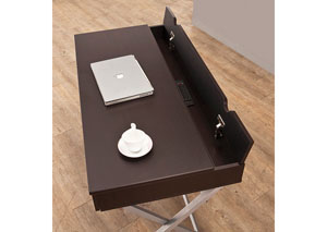 Image for Cappuccino Contemporary Cappuccino Writing Desk