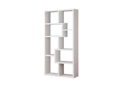 White Casual White Bookcase