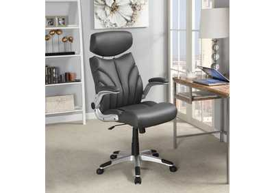Grey/Silver Office Chair