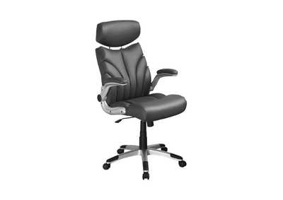 Image for Silver Contemporary Grey and Silver Office Chair