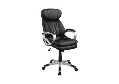 Image for Silver Casual Black Office Chair