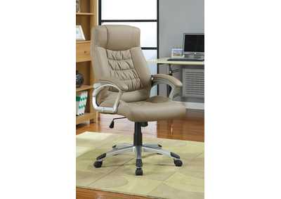 Taupe Office Chair