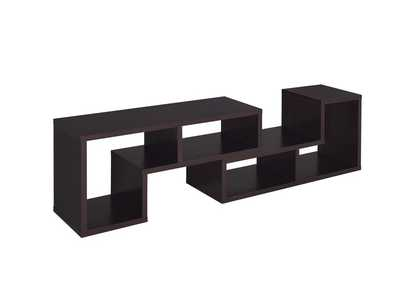 Image for Cappuccino Contemporary Cappuccino Bookcase