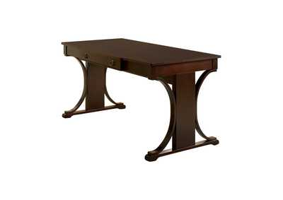 Image for Black Marlin Transitional Red Brown Writing Desk