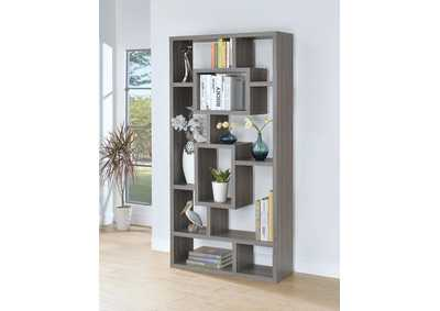 Dark Grey Bookcase