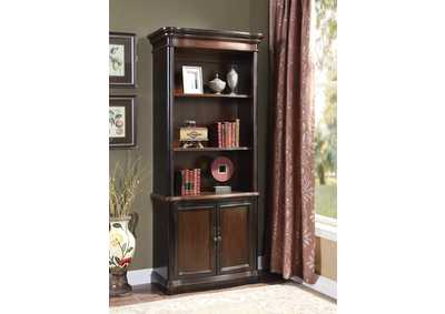 Black/ Cherry Bookcase