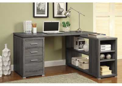 Dark Grey Computer Desk