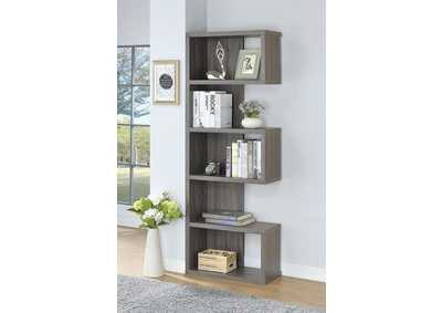 Dark Grey Bookshelf