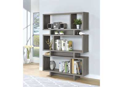 Weathered Grey Bookcase