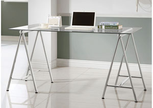 Nickel Writing Desk
