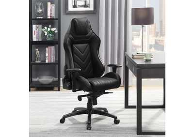 Matte Black Office Chair