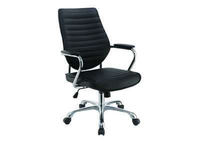 Black High-Back Office Chair
