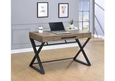 Weathered Taupe Writing Desk
