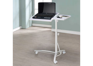 Image for White Contemporary Laptop Stand