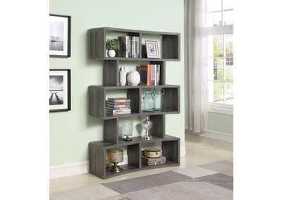 Astonishing Design Center Orange Ca Weathered Grey Bookcase Short Links Chair Design For Home Short Linksinfo