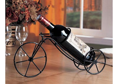 Black Wine Rack (Set of 6)