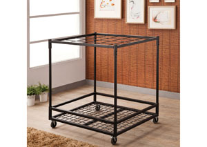 Image for Black Mobile Rug Display Rack
