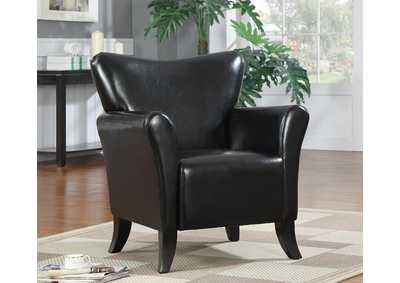 Black Accent Chair