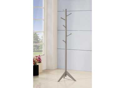 Grey Coat Rack