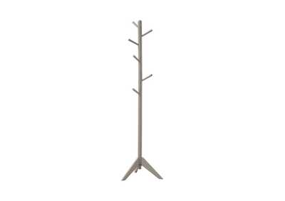 Image for Gray Traditional Grey Coat Rack
