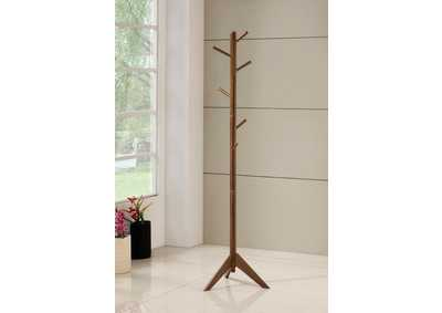 Walnut Coat Rack