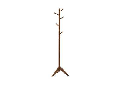 Image for Quincy Traditional Brown Coat Rack