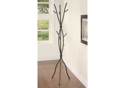 Brown Coat Rack
