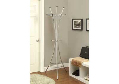 Image for Cultured Pearl Contemporary Cappuccino Coat Rack