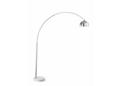 Image for Chrome Contemporary Chrome Floor Lamp