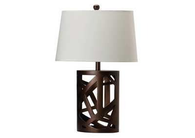 Flamingo Furniture Warm Brown Table Lamp