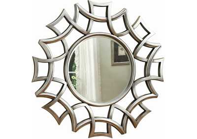 Image for Silver Accent Mirror