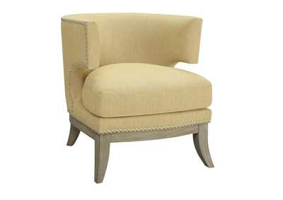 Gold Accent Chair