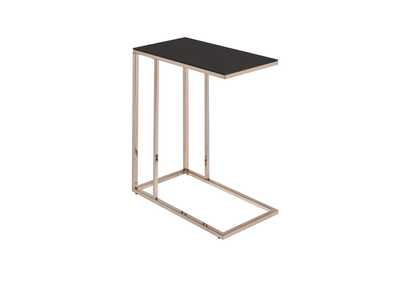 Image for Chocolate Chrome Contemporary Chocolate Chrome Snack Table