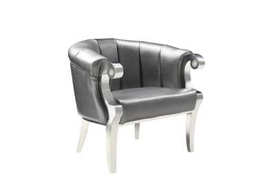 Grey Accent Chair