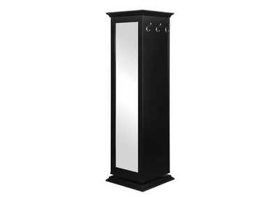 Image for Eerie Black Casual Black Accent Cabinet