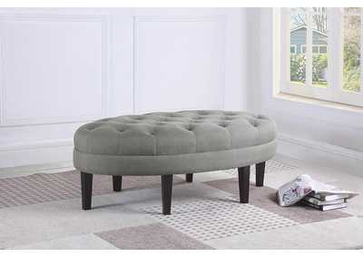 Light Grey Ottoman