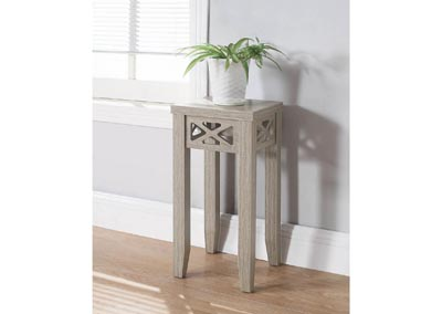 Dark Taupe Accent Table