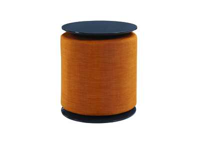 Orange/Grey Accent Table